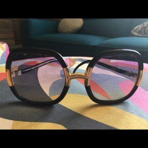 Vintage 70s Ted Lapidus Sunglasses